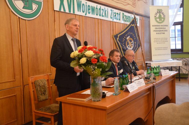 XVI Wojewódzki Zjazd Delegatów Warmińsko-Mazurskiej Izby Rzemiosła i Przedsiębiorczości