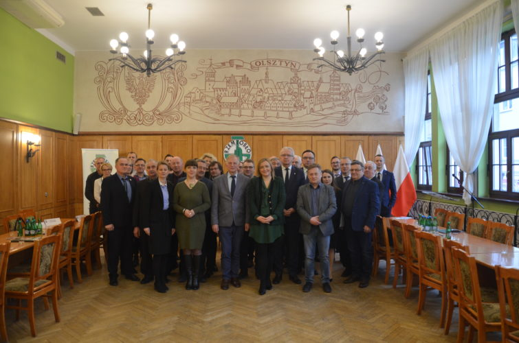 Minister Olga Semeniuk na spotkaniu z Rzemieślnikami Warmii i Mazur