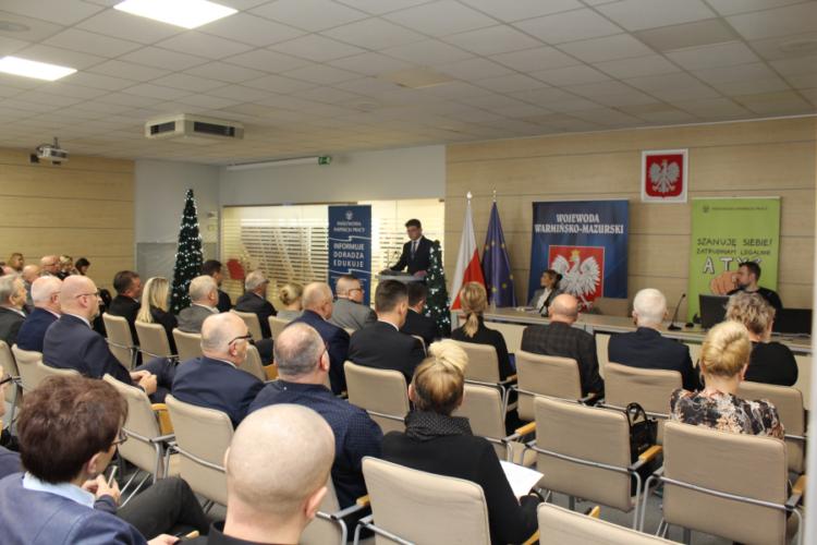 Uroczysta Gala - Okręgowy Inspektorat Pracy w Olsztynie