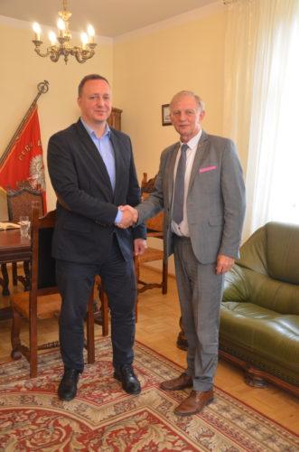 Spotkanie z Panem Grzegorzem Smolińskim Prezesem WMSSE