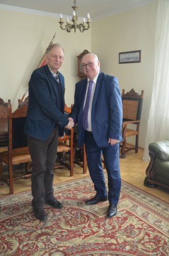 Spotkanie Prezesa Izby Pana Antoniego Górskiego z Prezesem BCC Panem Wiesławem Łubińskim