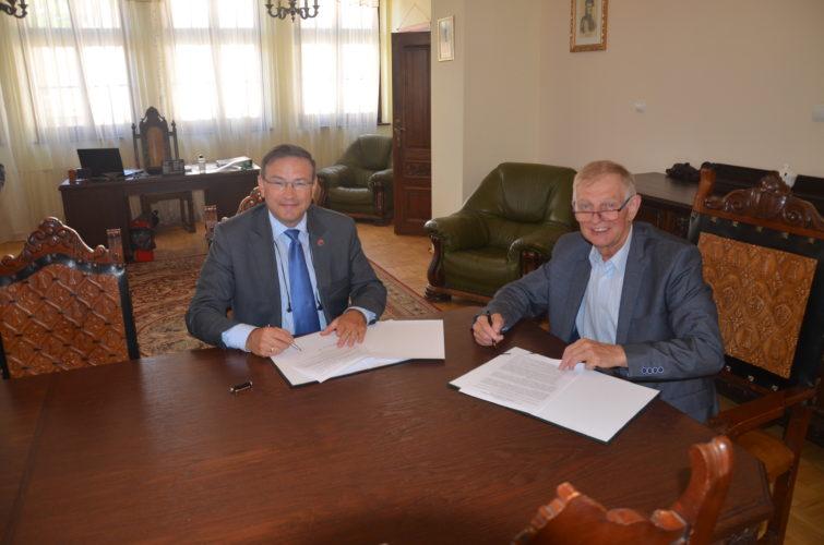 Podpisanie Porozumienia pomiędzy WMIRiP a OHP