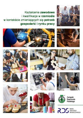 Publikacja ZRP dot. kształcenia zawodowego i kwalifikacji w rzemiośle